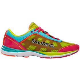 Salming Distance 3 Shoes Women Pink Glo/Turquoise
